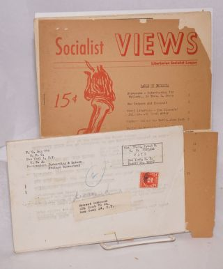 Socialist views. Whole no. 14 (May Day 1954)