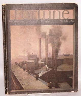 Fortune Volume xxiii Number 6 June 1941. Henry R. Luce, chairman