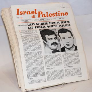 Israel & Palestine: a monthly review. [61 issues