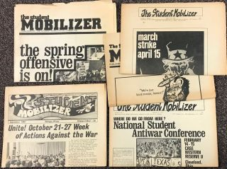 The Student Mobilizer. [four issues]