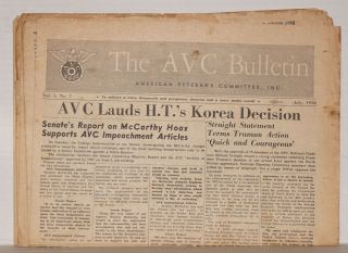 AVC Bulletin [fourteen issues]