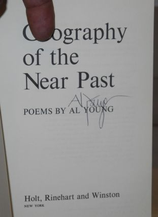 Geography of the near past; poems