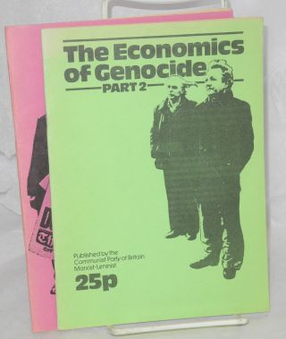 The Economics of Genocide. (Parts 1 and 2)