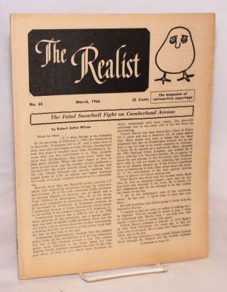 The realist [no.66], April 1966. Paul Krassner, ed