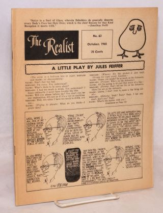 The Realist [no.63] October 1965. Paul Krassner