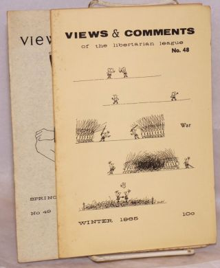 Views and Comments Nos. 48 and 49. Winter and Spring 1965 [two issues]