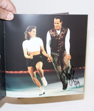 Mervyn's California presents Kristi Yamaguchi's A Golden Moment: An extraordinary skating concert to benefit the fight against breast cancer [signed by four Olympic medalists]