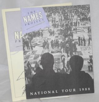 The NAMES Project: National Tour 1988 & The NAMES Project: a National AIDS Memorial [two pamphlets