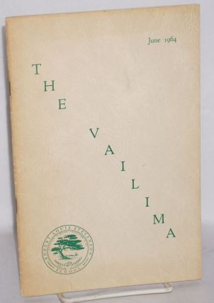 The Vailima; Robert Louis Stevenson School, June 1964. Pat Berdge, Michael Dougherty