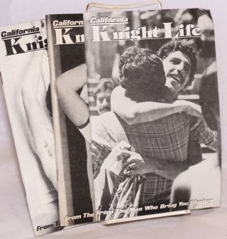 California Knight Life: [three issues] issue #6-8, September-November 1979