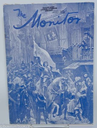 The Monitor, An Independent Monthly Review; vol. 24, #12, Dec. 1930, vol. 25, #4 & 5, April & May 1931 [3 issue broken run]