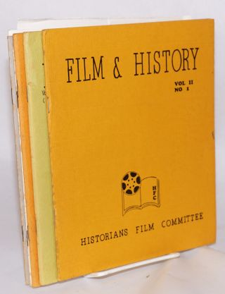 History & film: vol. I, number 3 - vol. XVII, no. 2 (broken run of 8 issues, first two issues titled Historians Film Committee Newsletter)