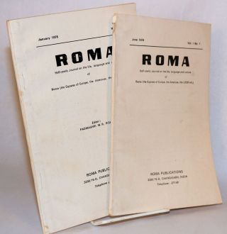 Roma: half-yearly journal on the life, language and culture of Roma (the Gypsies of Europe, the...