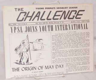 The Challenge May 1958, Volume 8, Number 3