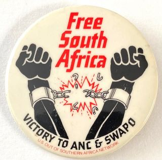 Free South Africa / Victory to ANC and SWAPO