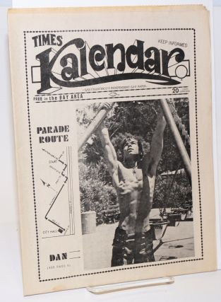 Kalendar (aka Times Kalendar) vol. 1, issue K11, June 23, 1972; Gay Pride Parade issue