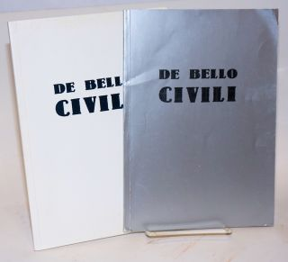 De Bello Civili (Nos. 1 and 3