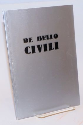De Bello Civili [No. 1]