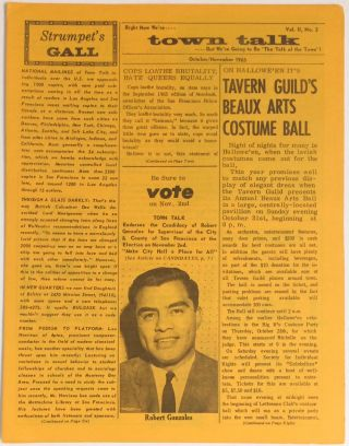 Town Talk: vol. 2, no. 3, October/November 1965