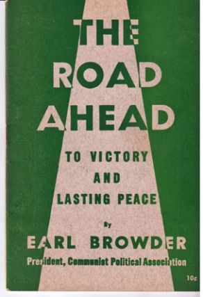 The road ahead, to victory and lasting peace