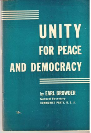 Unity for peace and democracy