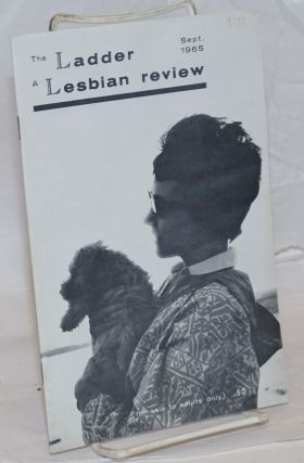 The Ladder: a lesbian review; vol. 9, #12, September 1965. Barbara Gittings, Brigid Brophy
