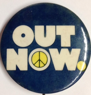 Out Now [pinback button