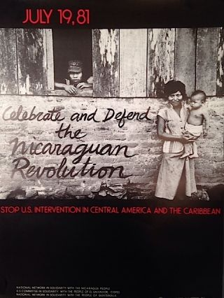 July 19, 81 / Celebrate and Defend the Nicaraguan Revolution / Stop U.S. Intervention in Central...