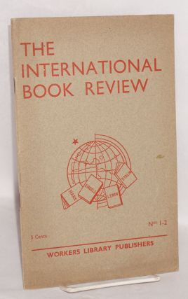 The international book review, nos. 1-2, November, 1938
