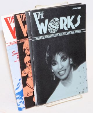 The Works: Indiana's newsmagazine for gay men and women; 5 issue broken run vol. 4, nos. 1 & 7 - 10, October 1984 - July 1985