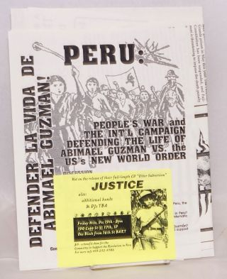 [Group of three different items in support of the Shining Path guerrillas in Peru]