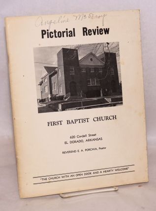 Pictorial review: First Baptist Church