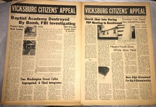 Vicksburg Citizens' Appeal [two issues: vol. 1, no. 2 and Vol. 1, no. 4