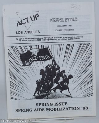 ACT UP / Los Angeles: Newsletter of the Aids Coalition to Unleash Power / Los Angeles, vol. 1,...