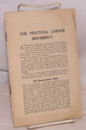 The Political Labour Movement