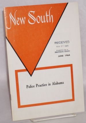 New South: volume 19, number 6, June 1964; Police practice in Alabama. Margaret Long, Leon Dure