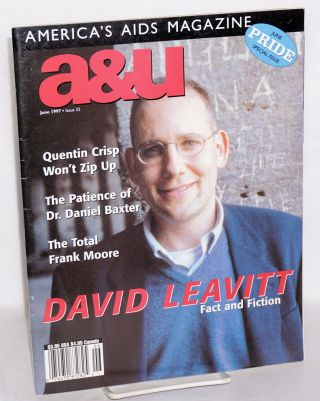 A & U: America's AIDS magazine; vol. 6, #5, issue #32, June 1997; Pride special issue. David...