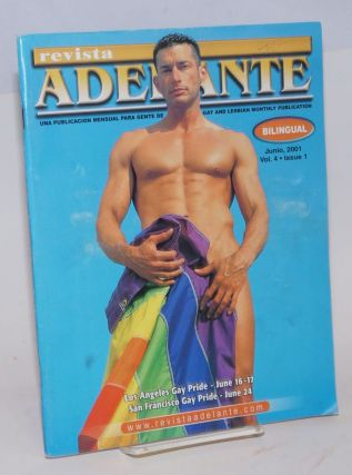 Revista adelante: a gay and lesbian monthly publication; vol. 4, issue 1, Junio 2001; Los Angeles...
