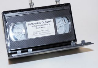 Screaming Queens: the riot at Compton's Cafeteria (VHS Tape Documentary - rough cut). Susan...