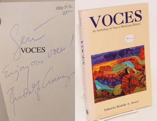 Voces; an anthology of Nuevo Mexicano writers. Rudolfo A. Anaya, Denise Chavez Jimmy Santiago...