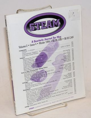 Steam; a quarterly journal for men, vol. 2, issue 4, Winter 1994. Scott O'Hara, Ian Young...