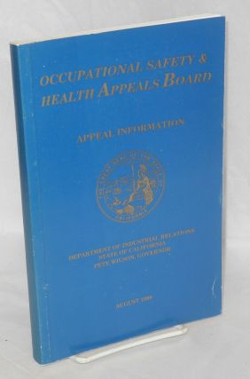 Occupational Safety and Health Appeals Board: appeal information