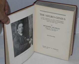 The Negro genius; a new appraisal of the achievement of the American Negro in literature and the fine arts, illustrated
