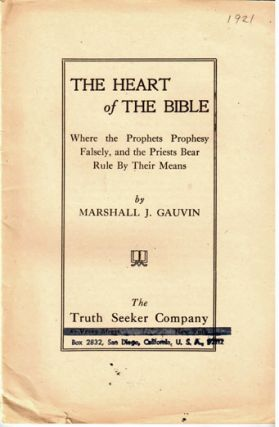The heart of the Bible, where the prophets prophesy falsely, and the priests bear rule by their means