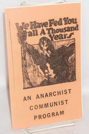 An anarchist communist program