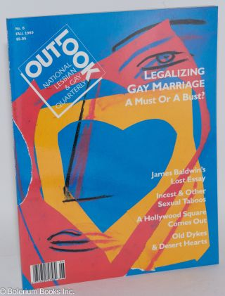 Out/look: national lesbian & gay quarterly vol. 2, #2 whole #6 Fall 1989. Debra Chasnoff,...