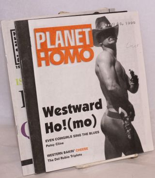 Planet Homo: the pocket party guide [broken run of 9 issues]