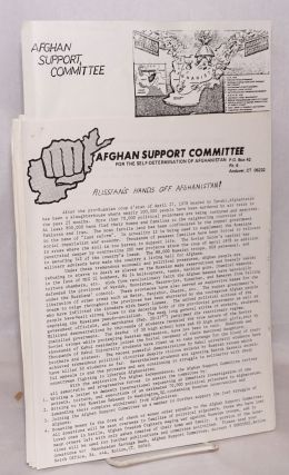Seven items from the Marxist-Leninist group]. Afghan Support Committee