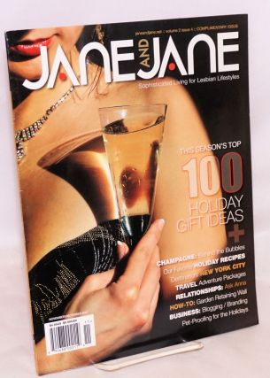 Jane and Jane: sophisticated living for lesbian lifestyles; vol. 2, #4, Nov/Dec 2007: Holiday...