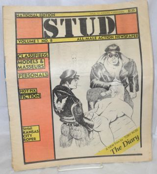 Stud: all-male action newspaper, volume 1, no. 8, national edition
